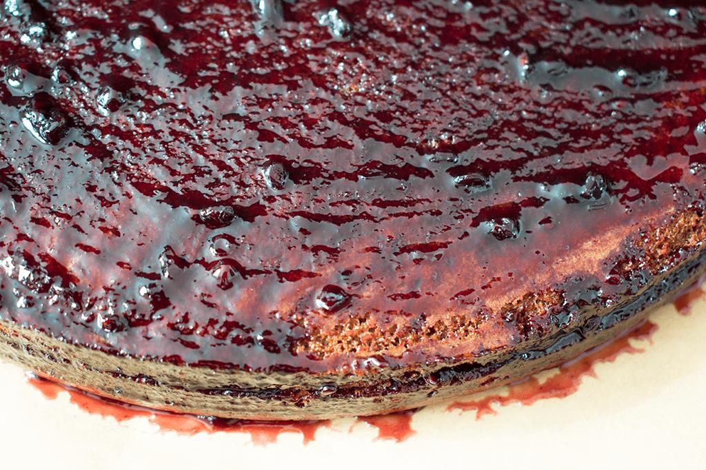 Alles gut mit Marmelade bestreichen