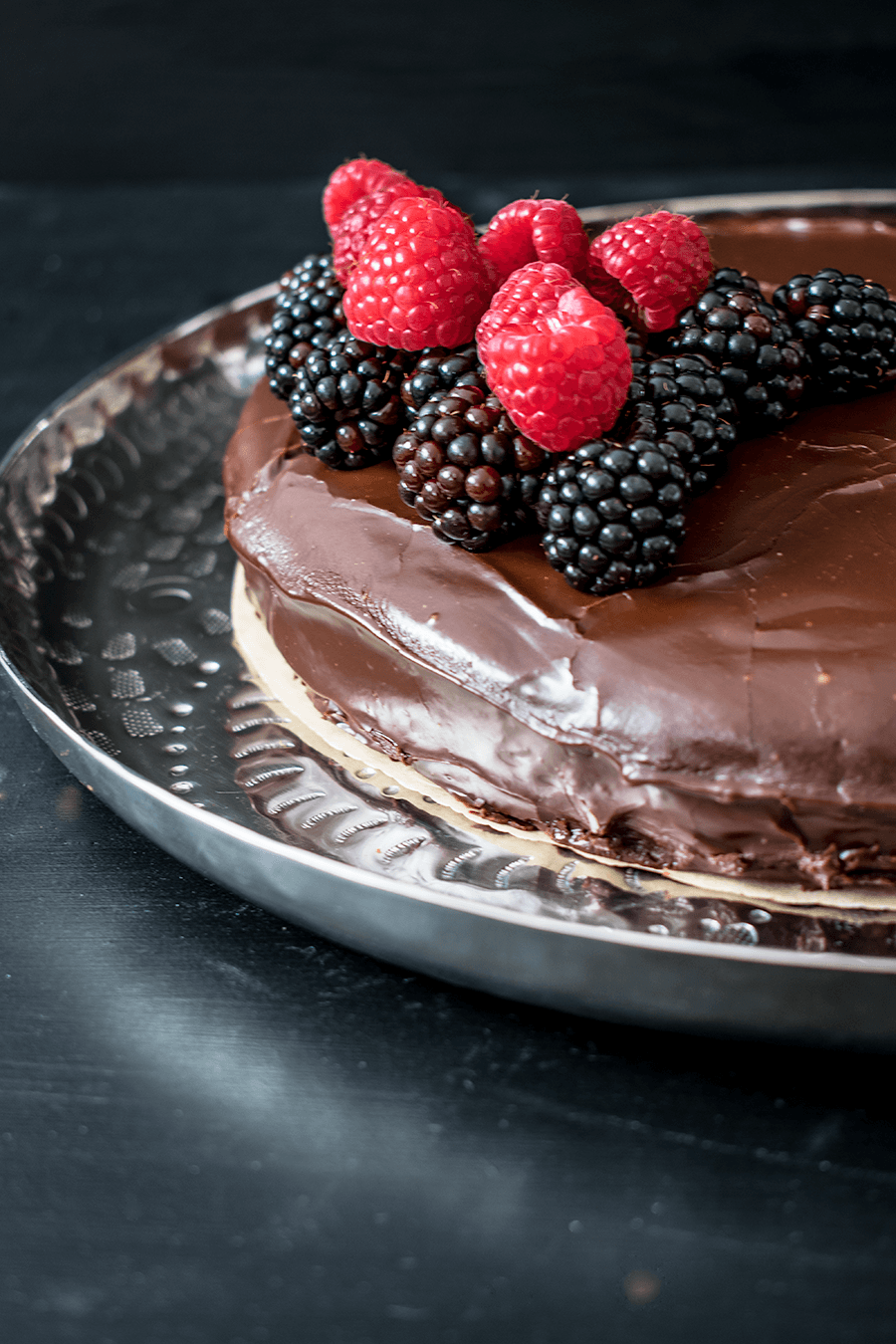 Süß-fruchtiger Schokoladentraum