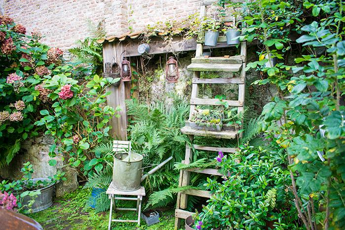 Der traumhafte Garten des B&B