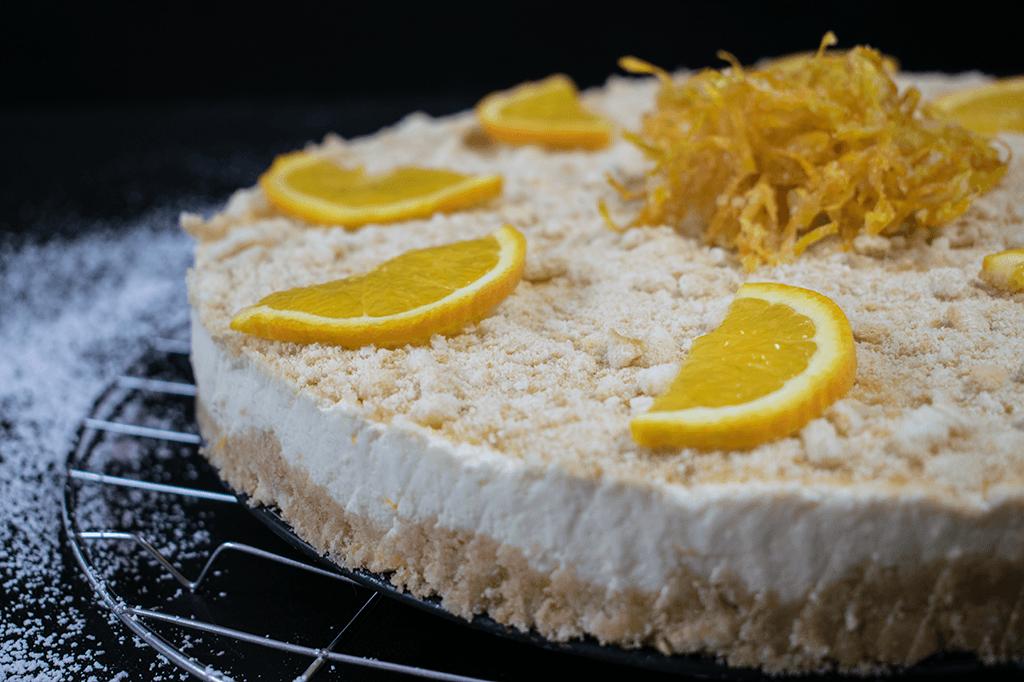 Cremig und lecker - Frischkäsetorte