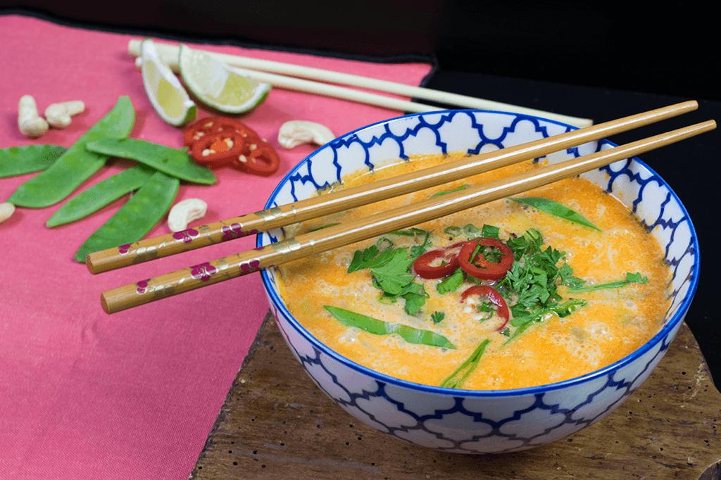 Thaisuppe Tom Kha Gai
