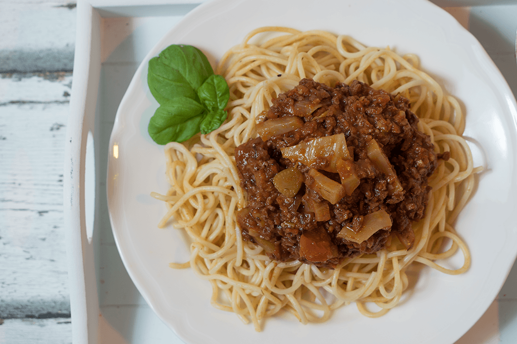 eine vegetarische Fenchelbolognese, Bolognese mit Fenchel