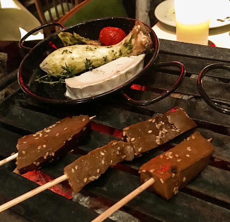 Vegetarisches BBQ in der Seifenfabrik Dr Thompson in Düsseldorf