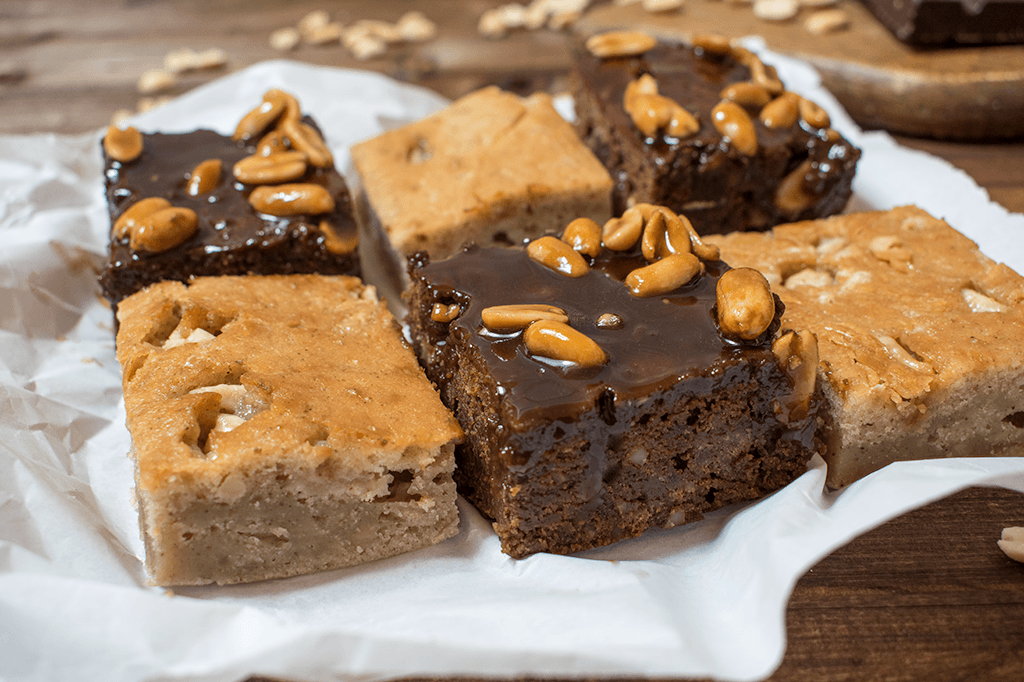 Vegane Brownies und Blondies