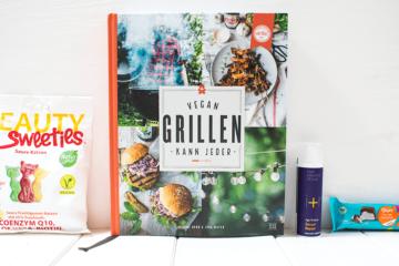 Produkttest Veganz, Beauty Sweeties, Vegan Grillen kann Jeder, iplusm Naturkosmetik